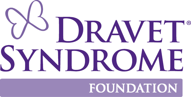 Dravet Syndrome Foundation logo with butterfly